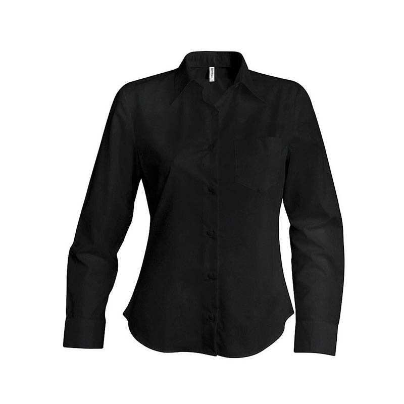 09c97fbf6e4 Dámská košile(KARIBAN LADIES LONG SLEEVE SHIRT) černá XL - Reklamní ...