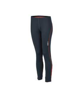 Dámské kalhoty (JN Ladies  Running Tights) šedá (iron)   červená 31d3a86444