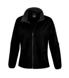 Dámská softshell bunda (RESULT LADIES PRINTABLE SOFTSHELL JACKET) černá    černá M 87559a872b