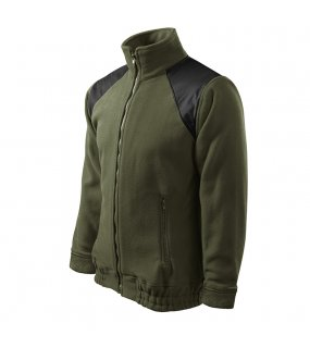 Unisex fleece mikina (ADLER Fleece Hi-Q 360) > zelená (military) > 3XL