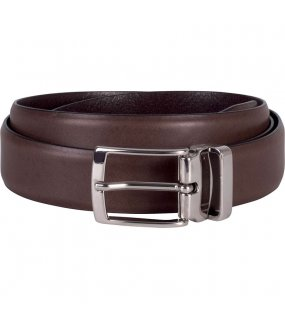 "Pásek (K-UP ""LEATHER BELT - 30MM"")>hnědá (dark)"